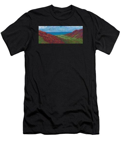 Kalalau Valley Men's T-Shirt (Athletic Fit)