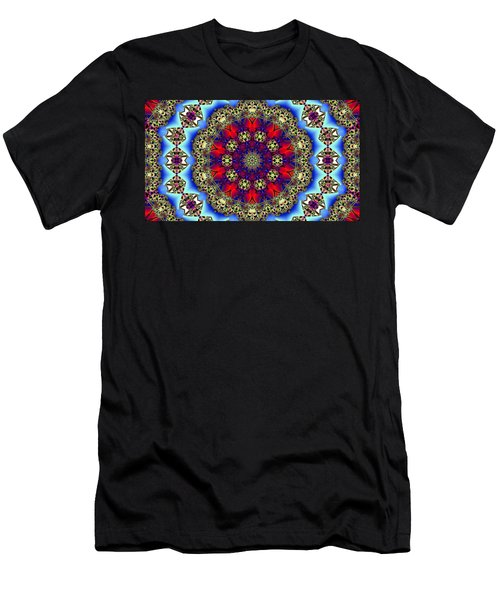 Kaleidoscope 51 Men's T-Shirt (Athletic Fit)