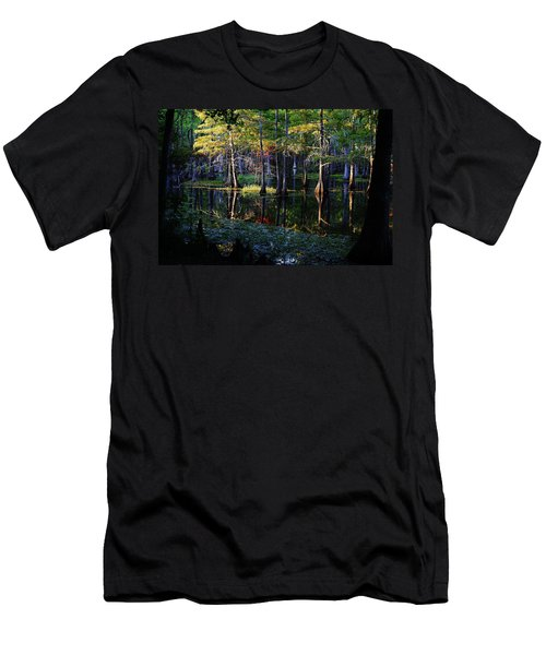 Kaleidoscope Light Men's T-Shirt (Athletic Fit)