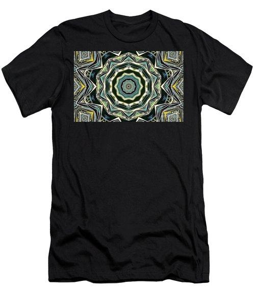 Men's T-Shirt (Slim Fit) featuring the photograph Kaleidoscope by Oksana Semenchenko