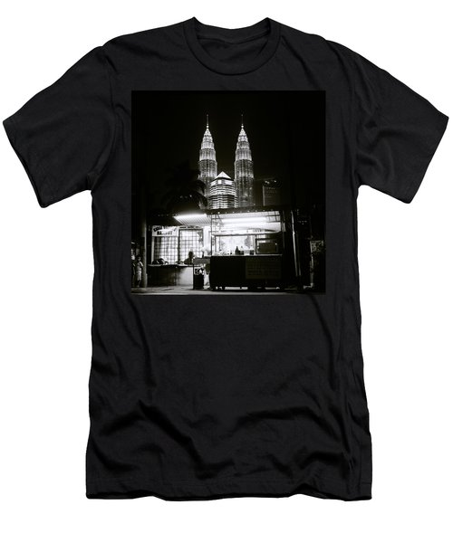 Kampung Baru Night Men's T-Shirt (Athletic Fit)