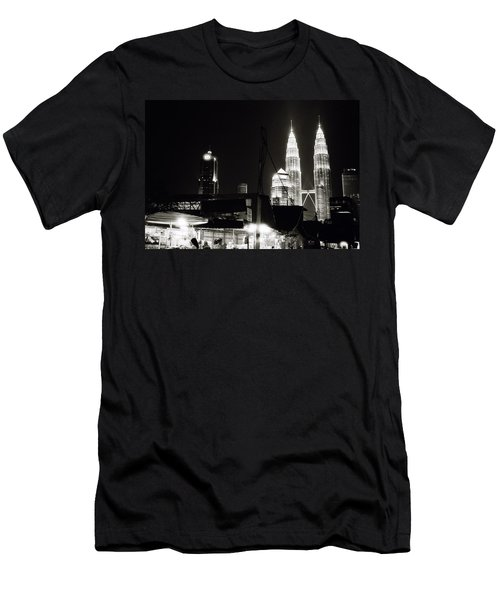 Kampung Baru Men's T-Shirt (Athletic Fit)