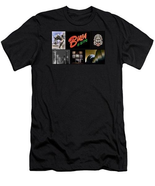 Kansas City Mo Men's T-Shirt (Athletic Fit)