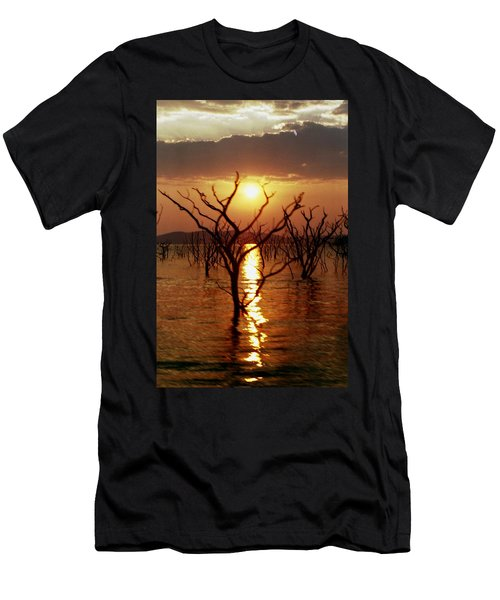 Kariba Sunset Men's T-Shirt (Athletic Fit)
