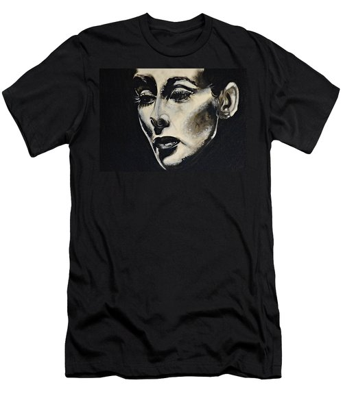 Men's T-Shirt (Slim Fit) featuring the painting Katherine by Sandro Ramani