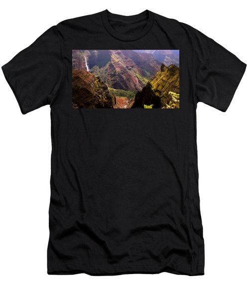 Men's T-Shirt (Slim Fit) featuring the photograph Kauai Colors by Katie Wing Vigil