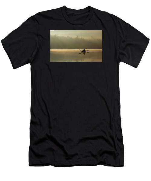 Kayaking At Sunup Men's T-Shirt (Athletic Fit)