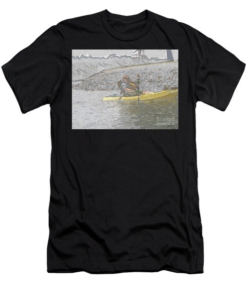 Kayaking  Men's T-Shirt (Athletic Fit)