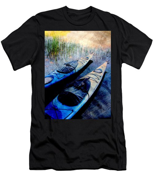 Kayaks Resting W Metal Men's T-Shirt (Athletic Fit)