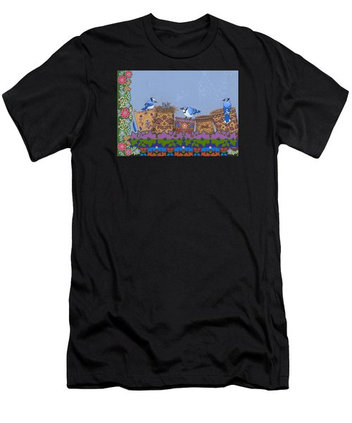 Men's T-Shirt (Athletic Fit) featuring the painting Keeper Of Songs by Chholing Taha
