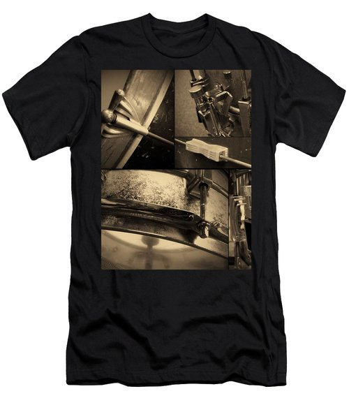 Keeping Time Men's T-Shirt (Slim Fit) by Photographic Arts And Design Studio