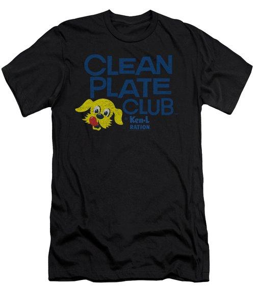 Ken L Ration - Clean Plate Men's T-Shirt (Athletic Fit)