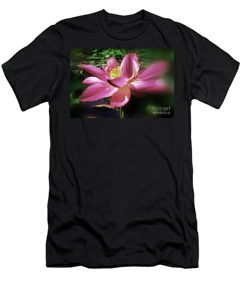 Men's T-Shirt (Slim Fit) featuring the photograph Kenilworth Garden Three by John S