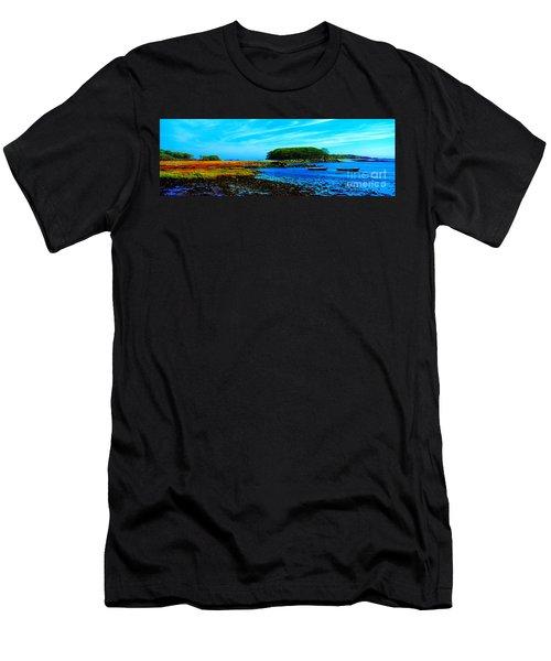 Kennebunkport  Vaughn Island  Men's T-Shirt (Athletic Fit)