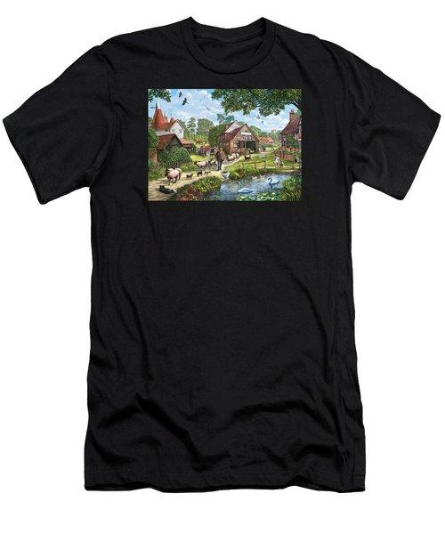 Kentish Farmer Men's T-Shirt (Athletic Fit)