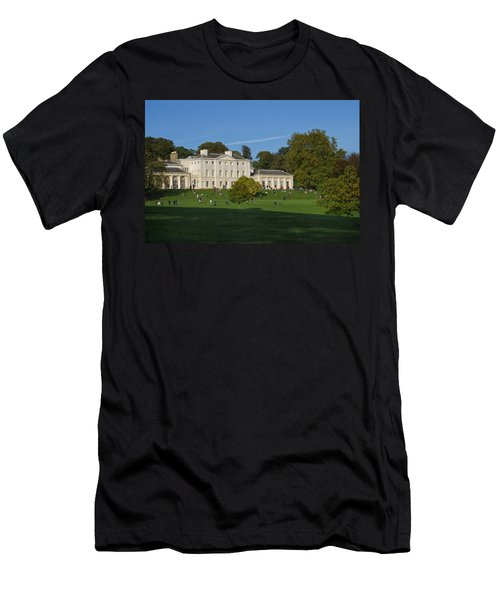 Kenwood House Hamstead Heathouse Men's T-Shirt (Slim Fit) by Carol Ailles