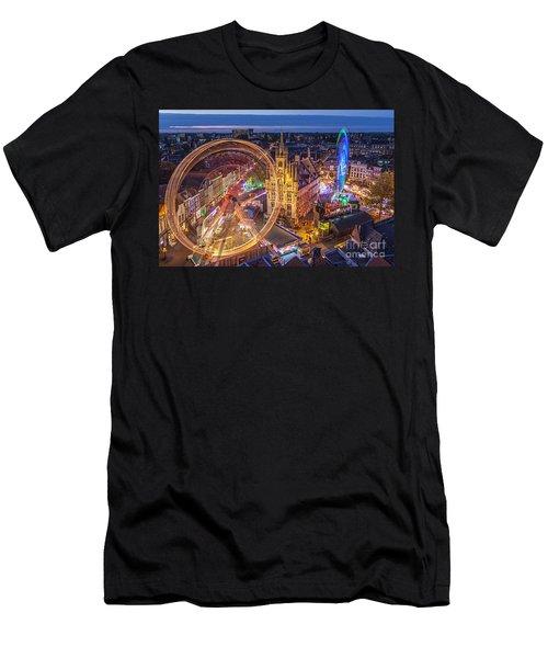Kermis In Gouda Men's T-Shirt (Athletic Fit)