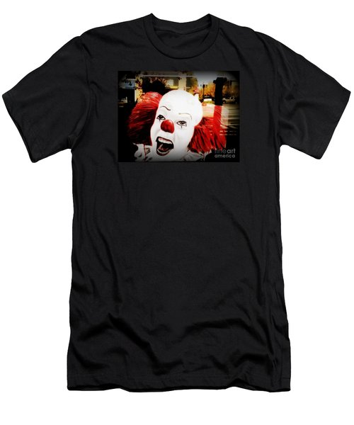 Killer Clowns On The Loose Men's T-Shirt (Slim Fit) by Kelly Awad