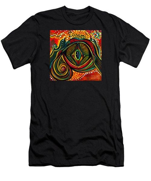 Kindness Spirit Eye Men's T-Shirt (Slim Fit) by Deborha Kerr