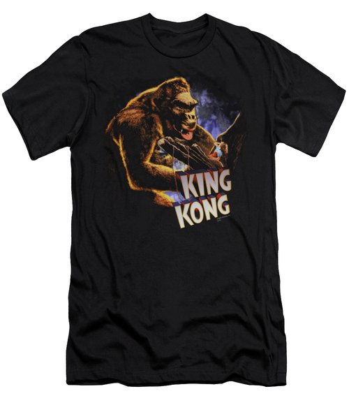 King Kong - Kong And Ann Men's T-Shirt (Slim Fit) by Brand A