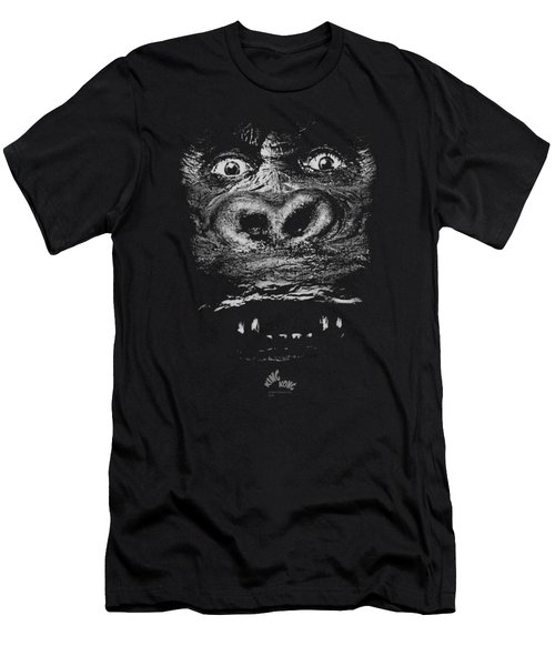 King Kong - Up Close Men's T-Shirt (Athletic Fit)