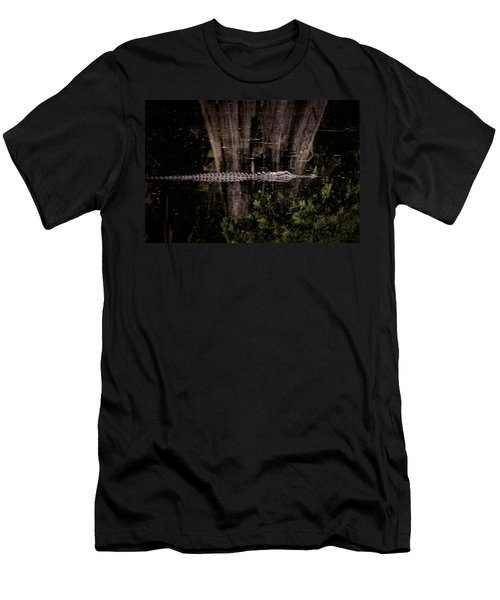 Men's T-Shirt (Athletic Fit) featuring the photograph King Of The River by Steven Sparks