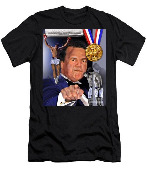Kings Among Men - Ali - The Greatest Love Men's T-Shirt (Athletic Fit)