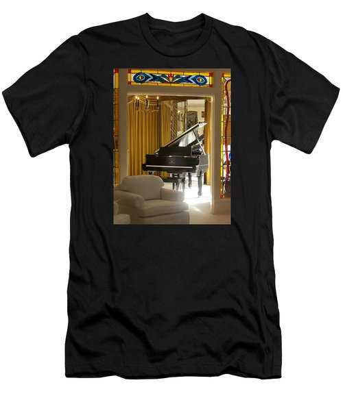 Kings Piano Men's T-Shirt (Athletic Fit)