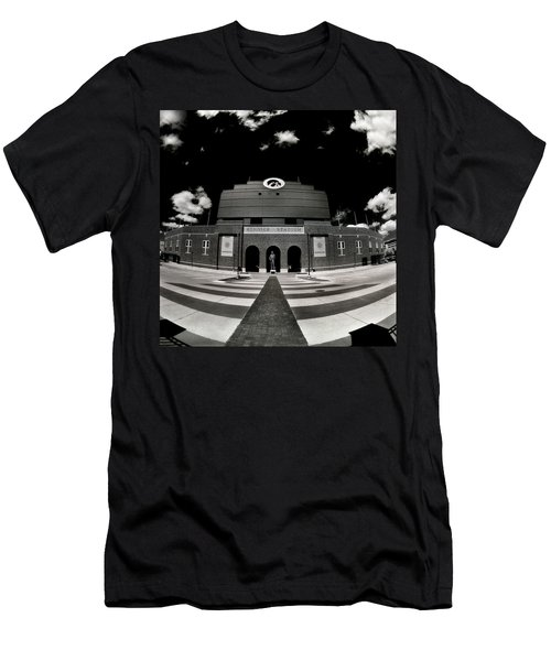 Kinnick Stadium Men's T-Shirt (Athletic Fit)