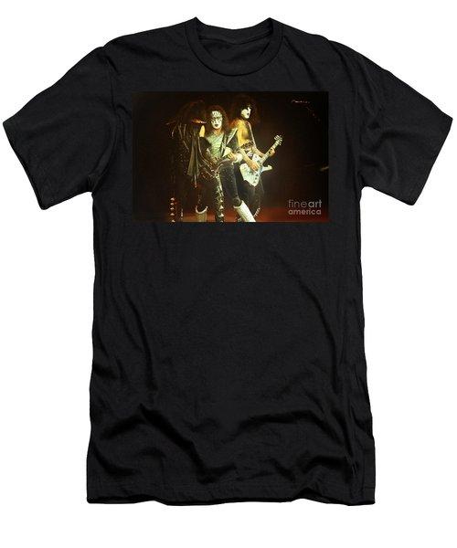 Kiss-3shot-0560 Men's T-Shirt (Athletic Fit)