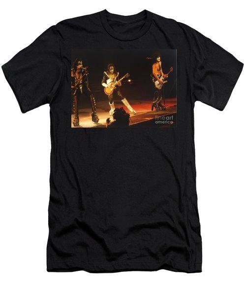 Kiss-b33a-1 Men's T-Shirt (Athletic Fit)