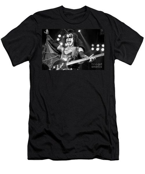 Kiss-gene-gp10 Men's T-Shirt (Athletic Fit)