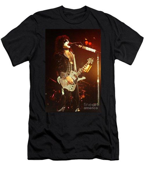Kiss-paul-0550 Men's T-Shirt (Athletic Fit)