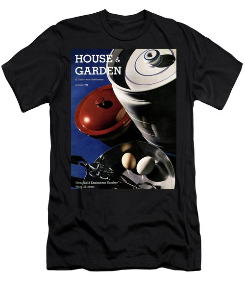 Kitchenware And Eggs Men's T-Shirt (Athletic Fit)