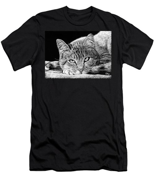 Kitty Men's T-Shirt (Athletic Fit)