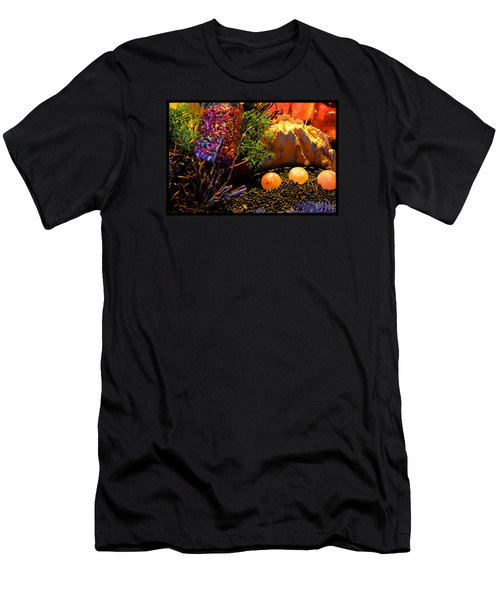 Kiva Mountain Eco Medicinals Men's T-Shirt (Slim Fit) by Susanne Still