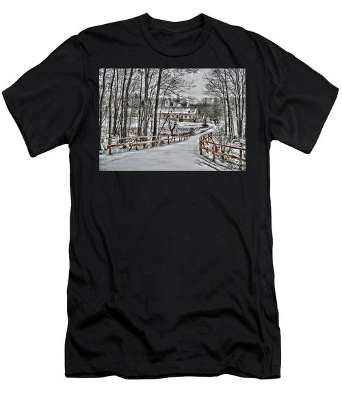 Men's T-Shirt (Slim Fit) featuring the photograph Kloster St. Anna  by Gabriella Weninger - David