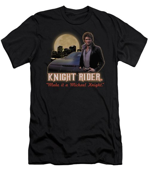 Knight Rider - Full Moon Men's T-Shirt (Athletic Fit)