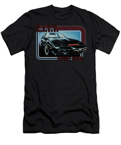 Knight Rider - Kitt Men's T-Shirt (Athletic Fit)