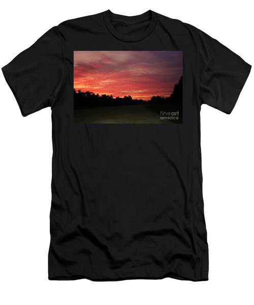 Men's T-Shirt (Slim Fit) featuring the photograph Knock Knocking On Heavens Door by Polly Peacock