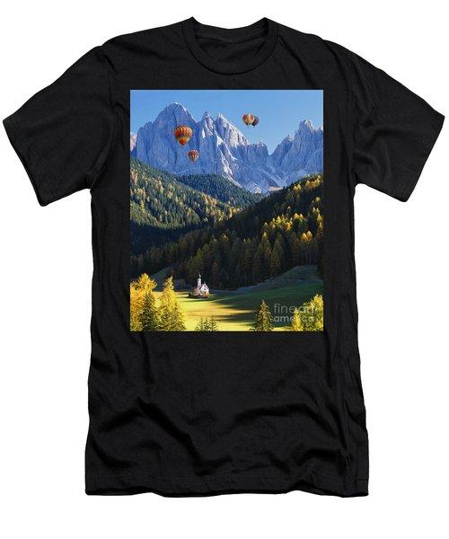 Know No Bounds Men's T-Shirt (Athletic Fit)