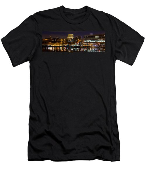 Knoxville Waterfront Men's T-Shirt (Slim Fit) by Douglas Stucky