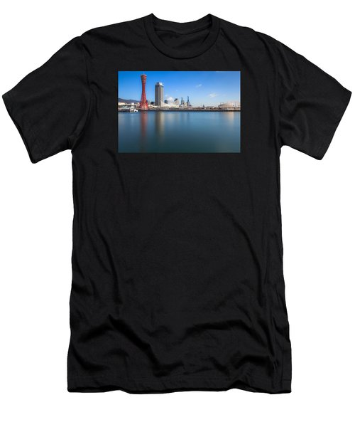 Kobe Port Island Tower Men's T-Shirt (Athletic Fit)