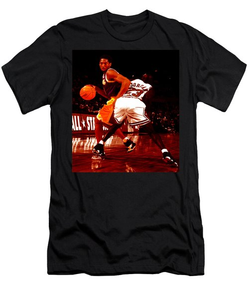 Kobe Spin Move Men's T-Shirt (Slim Fit) by Brian Reaves