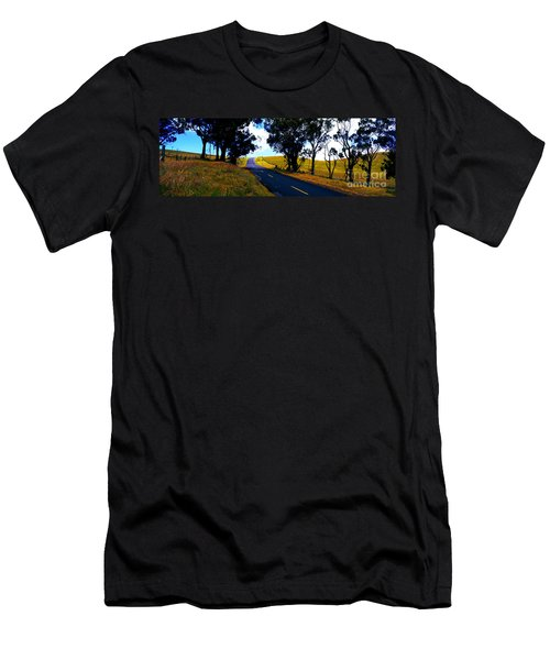 Kohala Mountain Road  Big Island Hawaii  Men's T-Shirt (Athletic Fit)