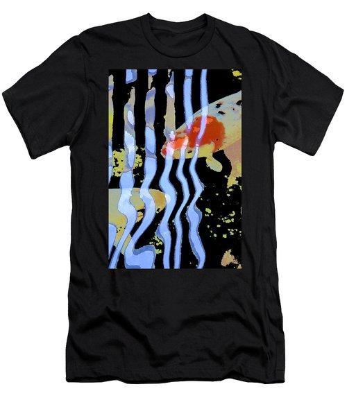 Koi 20 Men's T-Shirt (Slim Fit) by Pamela Cooper