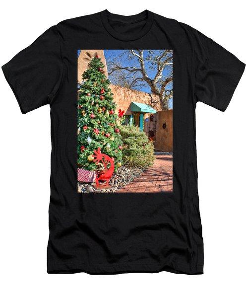 Kokopelli Christmas Men's T-Shirt (Athletic Fit)
