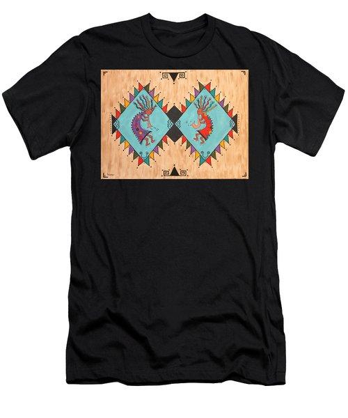 Kokopelli Jammin Men's T-Shirt (Athletic Fit)