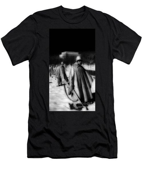 Korean Memorial Men's T-Shirt (Slim Fit) by Skip Willits