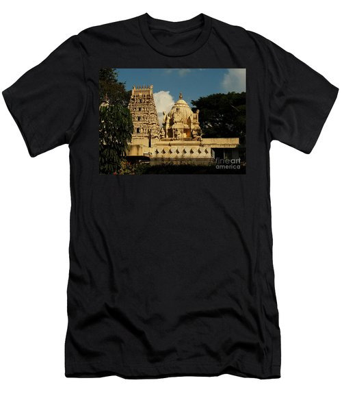Kote Venkataramana Temple Men's T-Shirt (Slim Fit) by Mini Arora